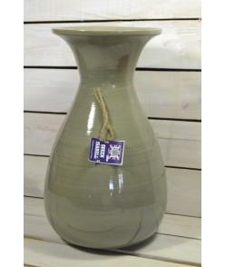 Bambusová váza - zelená (V:40cm)