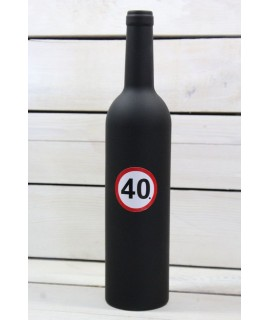 """Sada na otváranie vína FĽAŠA """"40"""" (v. 32,5 cm)"""
