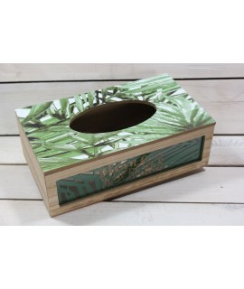 Drevená krabica na servítky VZOR 1. (26,5x8,5x15 cm)