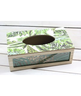 Drevená krabica na servítky VZOR 2. (26,5x8,5x15 cm)