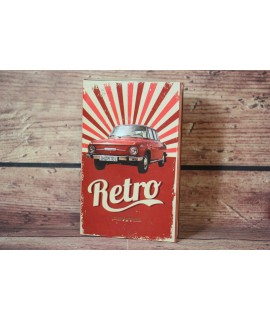 Darčekové balenie Kniha-RETRO-sprchový gel 200ml + olejový kúpeľ 200ml