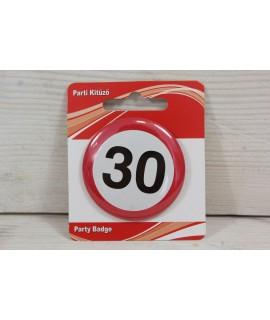 "Brošňa ""30"" (p. 5,5 cm)"