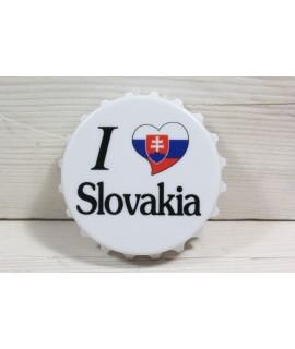 "Magnetka ""I LOVE SLOVAKIA"" (p. 7 cm)"