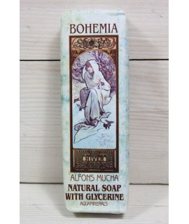 ALFONZ MUCHA - Jemné toaletné mydlo s glycerínom a aquaminerálmi, 120 g