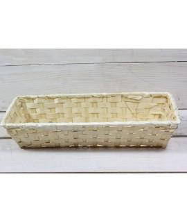 Prútený košík (30,5x6,5x11 cm)