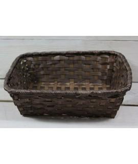 Prútený košík (18,5x6,5x19 cm)