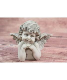 Anjelik 1. - sivý (v. 9,5 cm)