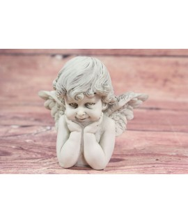 Anjelik 2. - sivý (v. 9 cm)