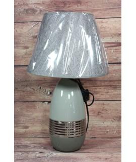 Lampa sivo-strieborná (v. 48 cm)