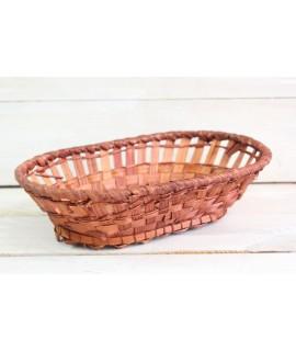 Prútený košík (25,5x6,5x16 cm)