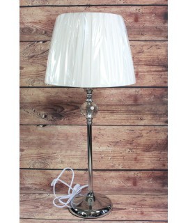 Lampa s kamienkom - biela (v. 66 cm)