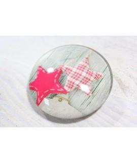 Magnetka s vianočným vzorom (p. 4 cm) 1.