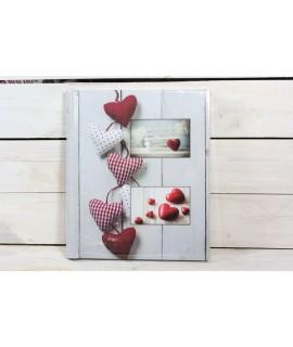 Fotoalbum SRDCE (10x15cm -8 ks, 13x18cm -80 ks, 15x21cm -40 ks)