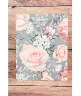 Darčeková taška - ružové ruže (18x23x10 cm) 1.