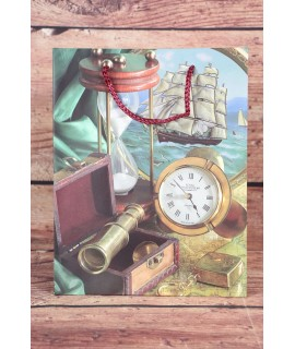 Darčeková taška - pánsky motív (18x23x10 cm)