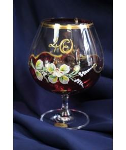 Výročný pohár na 40. narodeniny na BRANDY - bordový (690 ml)