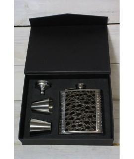 2-dielny set v darčekovej krabici - čierny motív 2.