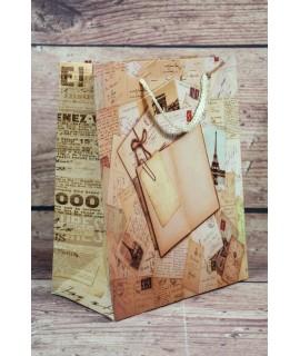 """Darčeková taška """"PARIS"""" (18x23x10 cm)"""
