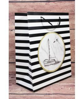 """Darčeková taška """"LOĎ"""" (27x32x12 cm)"""