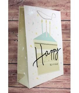 """Darčeková taška """"HAPPY BIRTHDAY"""" (31x44x12 cm)"""