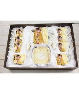 9-dielna sada (GUSTAV KLIMT) v darčekovej krabici - maslová