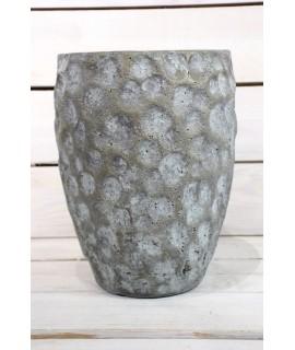 Betónová váza - sivá (v. 24,5 cm)