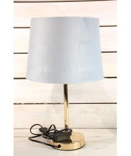 Lampa - zlato-sivá (v. 42 cm)