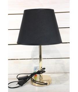 Lampa - zlato-čierna (v. 42 cm)