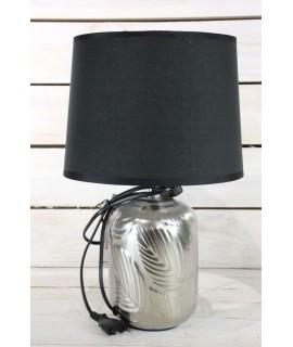 Lampa - čierno-strieborná (v. 36,5 cm)