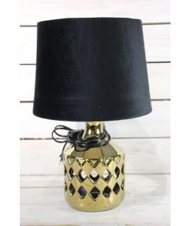 Lampa - zlato-čierna (v. 39 cm)