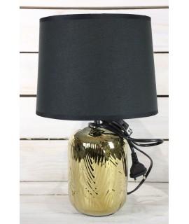 Lampa - zlato-čierna (v. 36 cm)