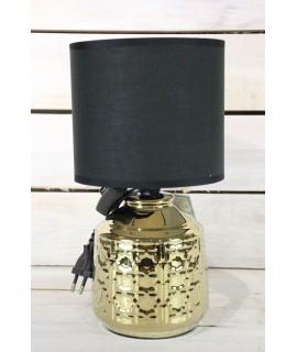 Lampa - zlato-čierna (v. 28 cm)
