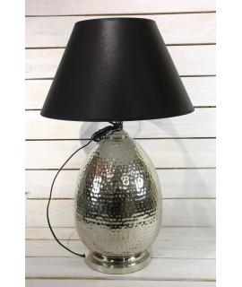 Lampa - strieborno-čierna (v. 64 cm)