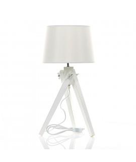 Stojaca lampa - biela (61x30 cm)