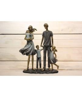 Dekorácia rodina (20x26 cm)