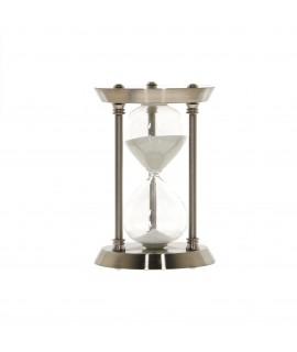 Presýpacie hodiny MSK 138 - strieborné 30 min. (v. 22,5 cm, p. 15 cm)