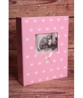 "Fotoalbum ""BABY"" (na fot. 10x15cm - 200 fotiek) - ružový"