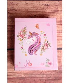 "Fotoalbum ""Unicorn"" - ružový"