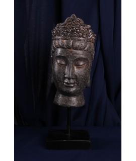 Budha - socha hlavy Budhu