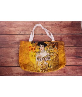 Bavlnená taška Klimt Adele (43x30x8 cm)