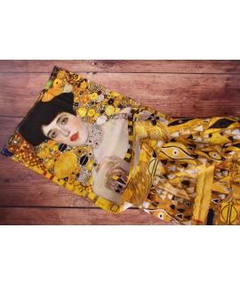 Bavlnený obrus - štóla Klimt Adele (40x140 cm)