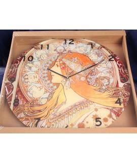 "Hodiny ""Alfons Mucha - Zodiac"" (p. 40cm)"