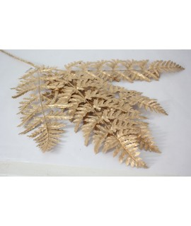 Dekorácia list - zlatý (v. 92cm)