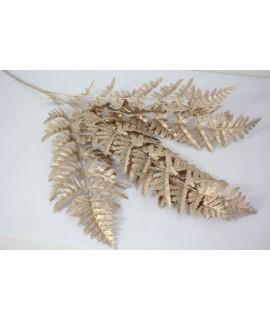 Dekorácia list - medený (v. 92cm)