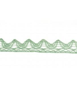 Bledo-modrá krajka (m) - š.3 cm