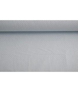 Bavlnená látka (š. 240 cm) - bledomodrá bodkovaná