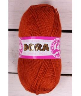Vlna DORA - tehlová 107 (100 g)