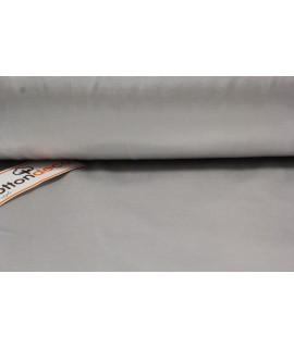Bavlnená saténová látka (š. 240 cm) - bledosivá