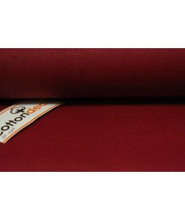 Bavlnená látka (š. 180 cm) - bordová