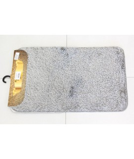 Kúpeľňová dvojdielna súprava SYNERGY - SIMSIZ PLAIN (S-10) - sivý (50x80 cm)